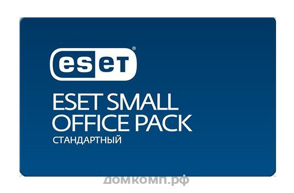 Программное Обеспечение Eset NOD32 Small Office Pack Станд new 10 users (NOD32-SOS-NS(CARD)-1-10)