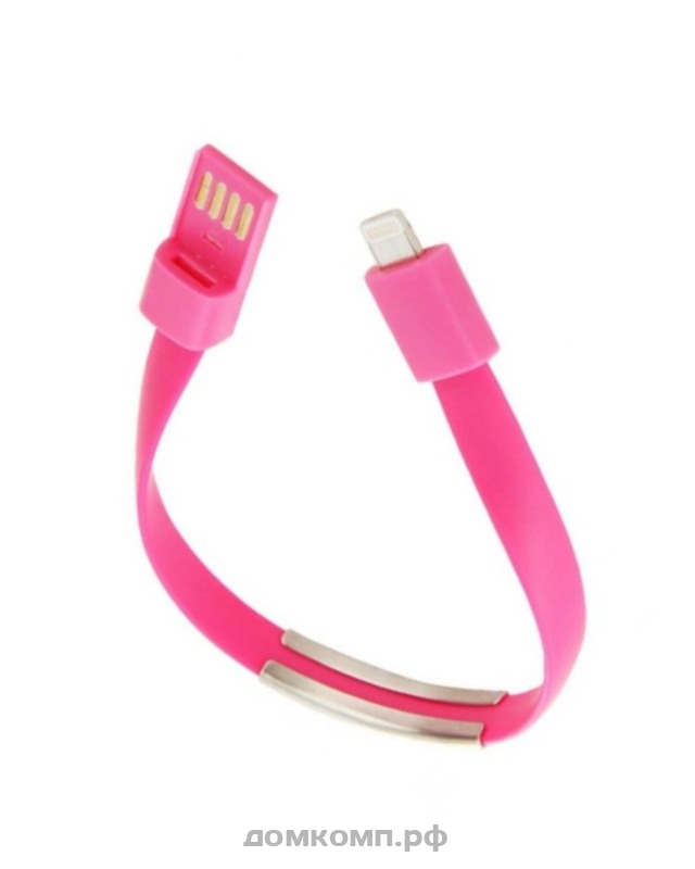 Кабель Apple Lightning - USB Браслет 1A 0.4M
