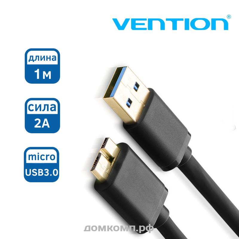 Кабель microUSB 3.0 - USB3.0 Samsung Note 3 [черный, 1 метр] высокого качества. Купить недорого на домкомп.рф